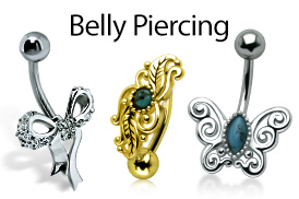 Belly Piercings