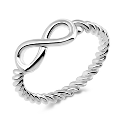 Infinity Silver Ring NSR-417