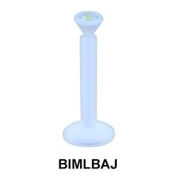 Basic Labrets With Jewelled BIMLBAJ