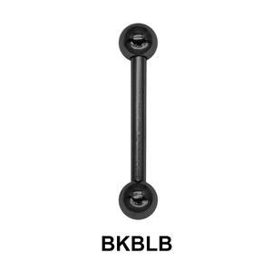 1.6mm Straight Barbells Ball BKBLB
