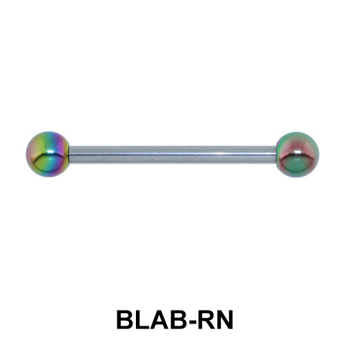 Basic Barbell Anodized Ball BLAB