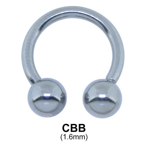 Circular Barbells Ball Basic Piercing MCBB