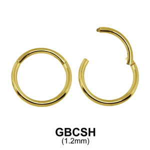 Gold Plated Segment Ring GBCSH 1.2mm