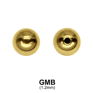 Gold Plated Micro Ball Basic GMB (1.2)
