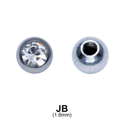 Jewelled Ball Basic Part JB