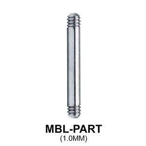 Micro Barbell Part MBL-PART (1.0mm)