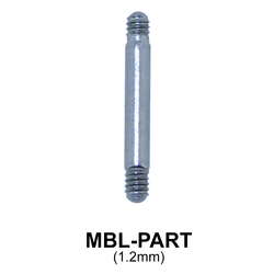 Micro Barbell Basic Part MBL-PART (1.2mm)