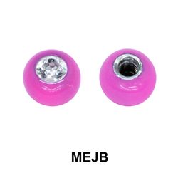 Basic Part Enamel Jewelled Ball MEJB