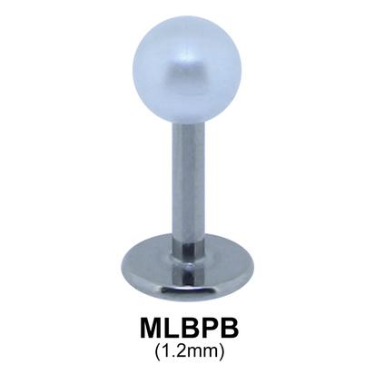 Basic Face Piercing Pearl MLBPB