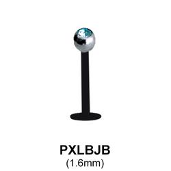 PTFE Labrets Piercing PXLBJB-BK