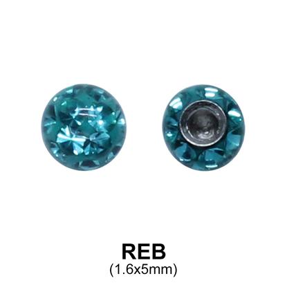 Basic Epoxy Rainbow Balls REB (5mm)