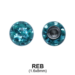 Basic Epoxy Rainbow Balls REB (8mm)