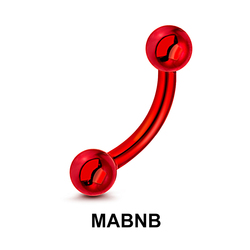 Red Steel Micro Banana Ball MABNB