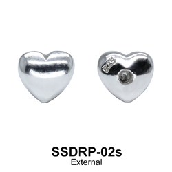 External Attachment Heart Shaped SSDRP-02s