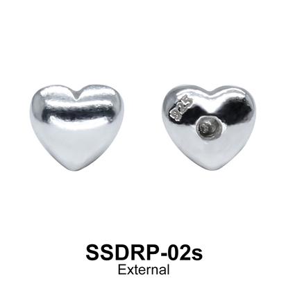 External Attachment Heart Shaped SSDRP-02s