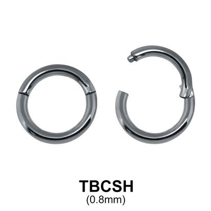G23 Titanium Segment Ring TBCSH 0.8mm