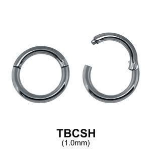 G23 Titanium Segment Ring TBCSH 1.0mm