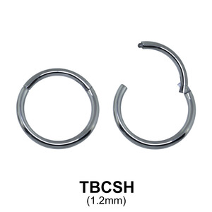 G23 Titanium Segment Ring TBCSH 1.2mm