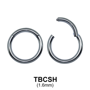 G23 Titanium Segment Ring TBCSH 1.6mm
