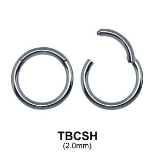 G23 Titanium Segment Ring TBCSH 2.0mm