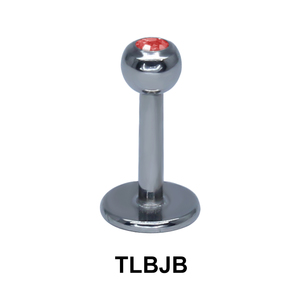 Basic Titanium Labret Jewelled Ball TLBJB