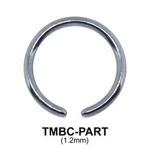 G23 Basic Titanium Part TMBC-PART (1.2mm)