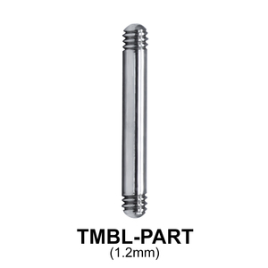 G23 Micro Barbell Basic Part TMBL-PART (1.2mm)