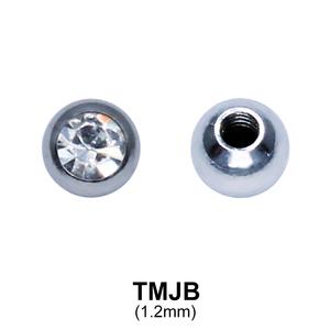 G23 Basic Titanium Jewelled Ball TMJB