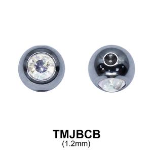 G23 MicroTitanium  Jewelled Ball  TMJBCB