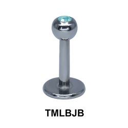 Basic Titanium Labret Jewelled Balls TMLBJB
