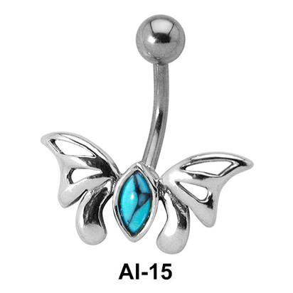 Butterfly Belly Piercing AI-15