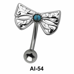 Butterfly Belly Filigree Piercing AI-54