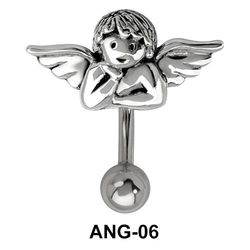 Fairy Shaped Belly Piercing ANG-06