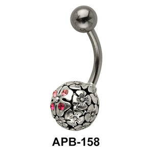 Flora Ball Belly Piercing APB-158