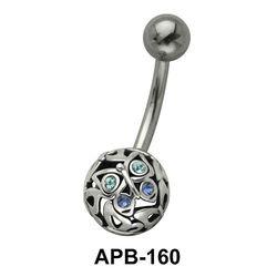 Cute Butterfly Ball Belly Piercing APB-160
