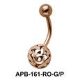 Beautiful Ball Design Belly Piercing APB-161