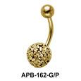 Flower Ball Belly Piercing APB-162