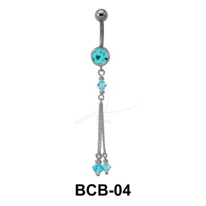 Dangling Belly Piercing BCB-04