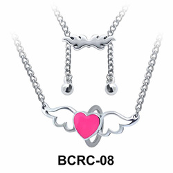 Heart Wings Closure Rings Belly Piercing Chains BCRC-08