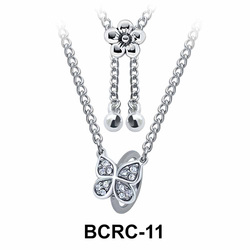 Butterfly Closure Rings Belly Piercing Chains BCRC-11