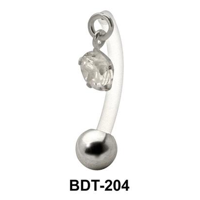 Dangling Stone Belly Piercing BDT-204