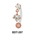 Double Stone Belly Touch BDT-207