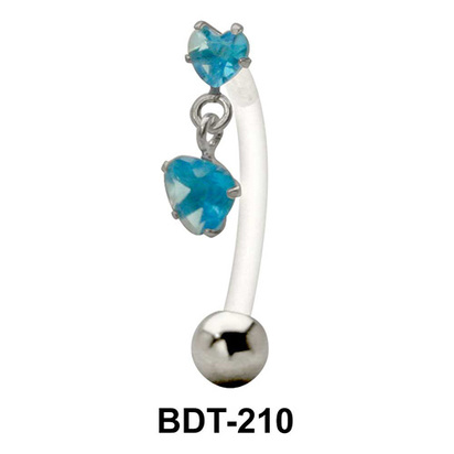 Dual Hearts Belly Touch BDT-210