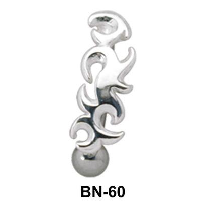 Gorgeous Upper Belly Piercing BN-60