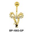 Pretty Bow Belly Piercing BP-1003