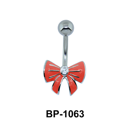 Yellow Bow Belly Piercing BP-1063
