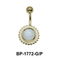 White Moonstone Belly Piercing BP-1772