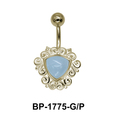 Aquamarine Belly Piercing BP-1775