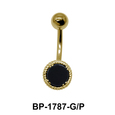 Black Agate Belly Piercing BP-1787