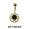 Black Agate Belly Piercing BP-1788